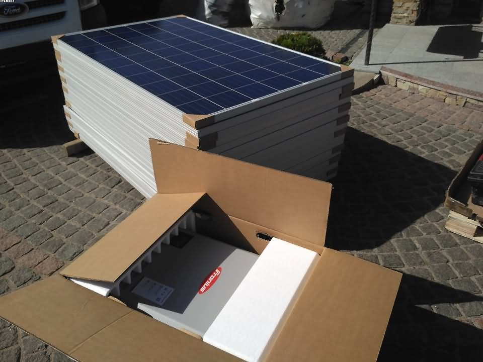 """Мережева сонячна станція 15 кВт """"під ключ"""""""