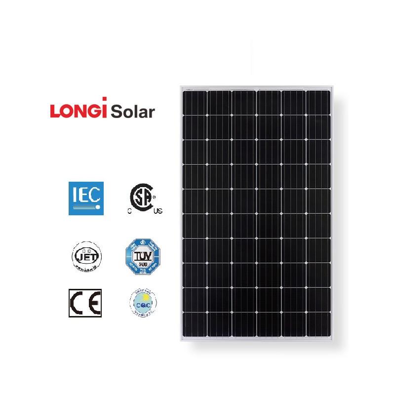 Сонячна панель монокристал LONGI SOLAR LR6-60PE – 300W 5BB mono PERC