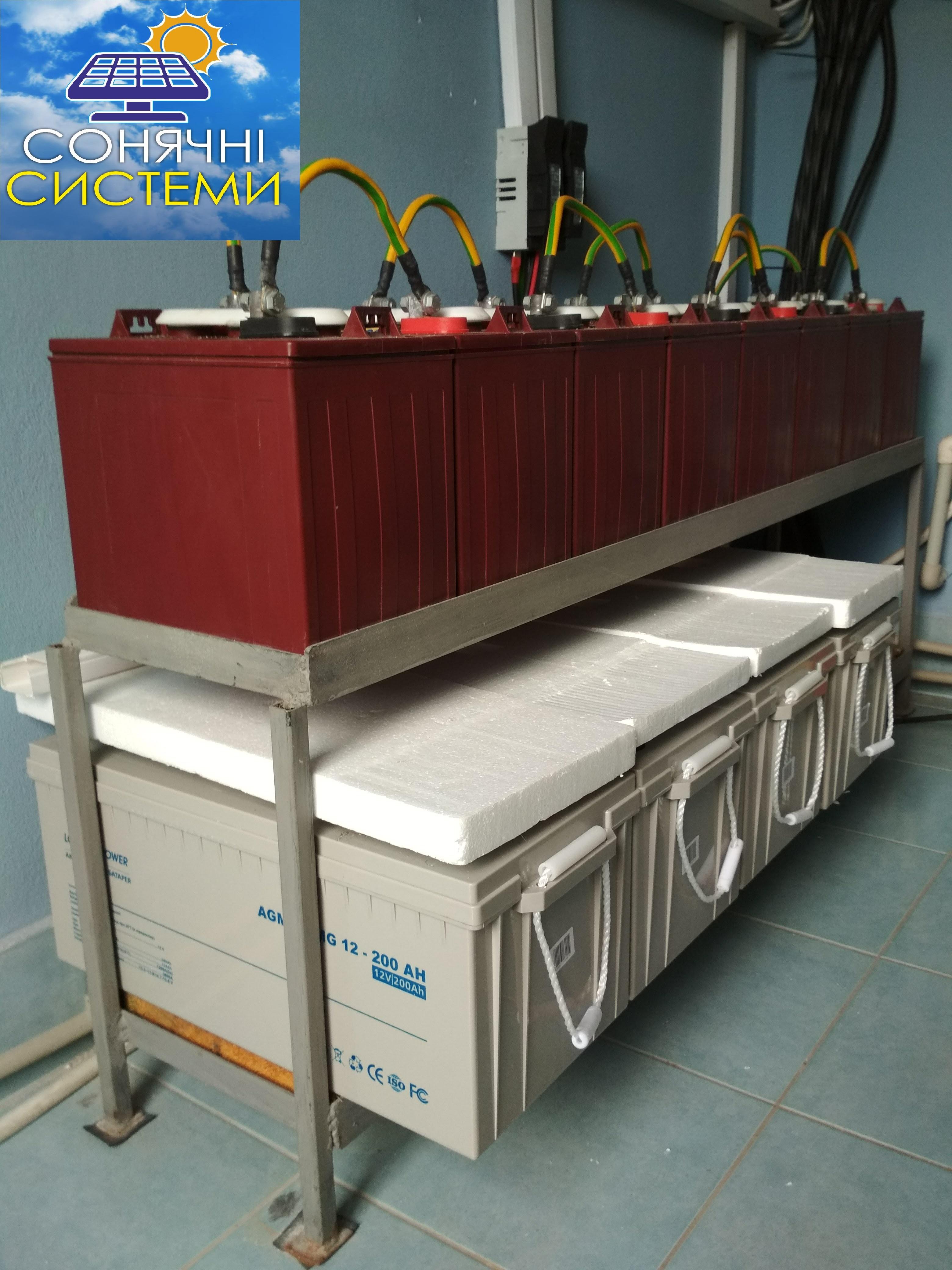 Автономна сонячна електростанція 4 кВт