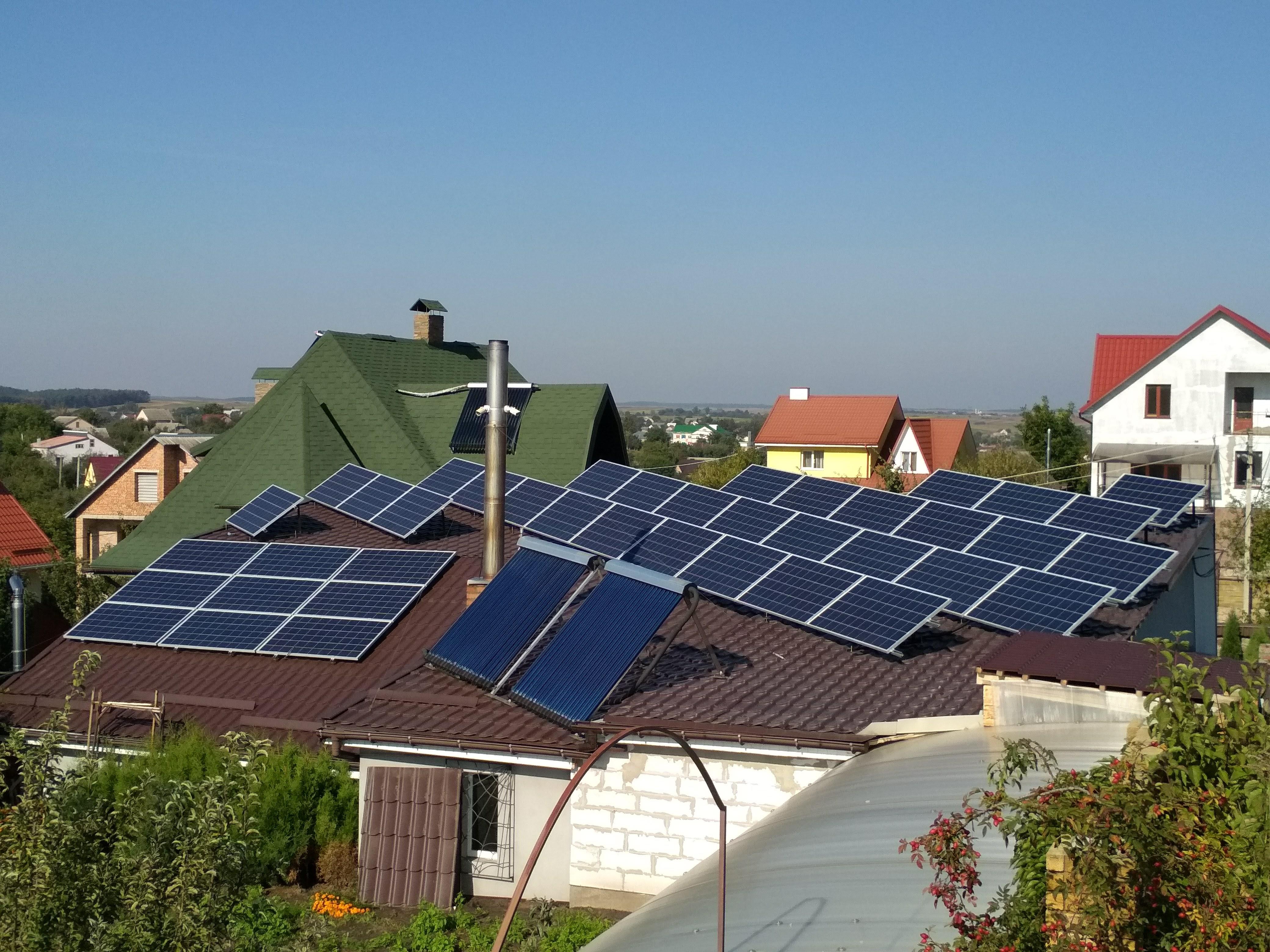 """Мережева сонячна станція 10 кВт """"під ключ"""""""