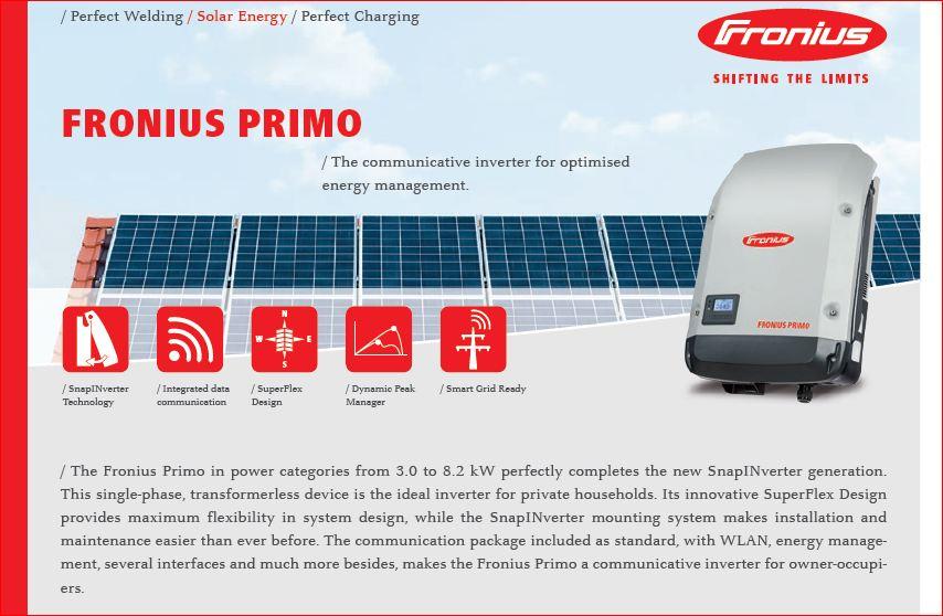 Мережевий інвертор Fronius Primo 6.0-1