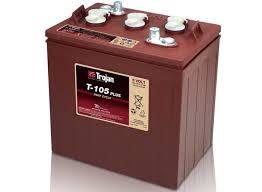 Акумулятор Trojan T105 225 А*годин, 6В, з рідким електролітом