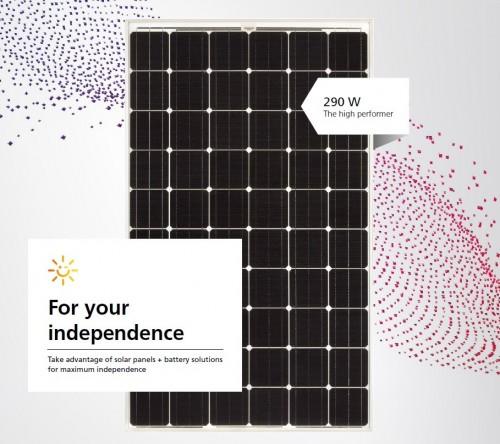 Сонячна панельSharp NU-RC300 mono