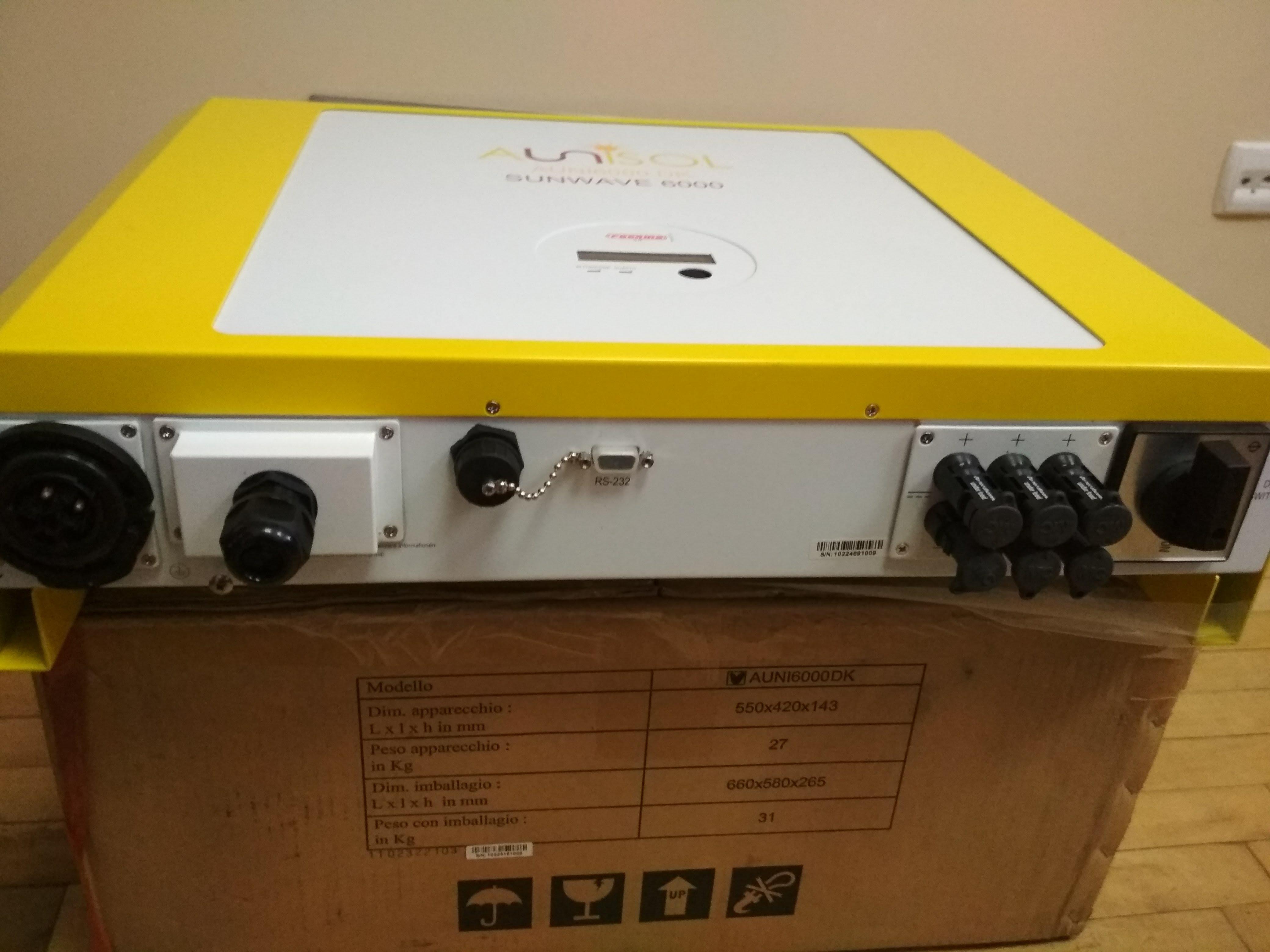 Мережевий інвертор  AUNISOL 6000W