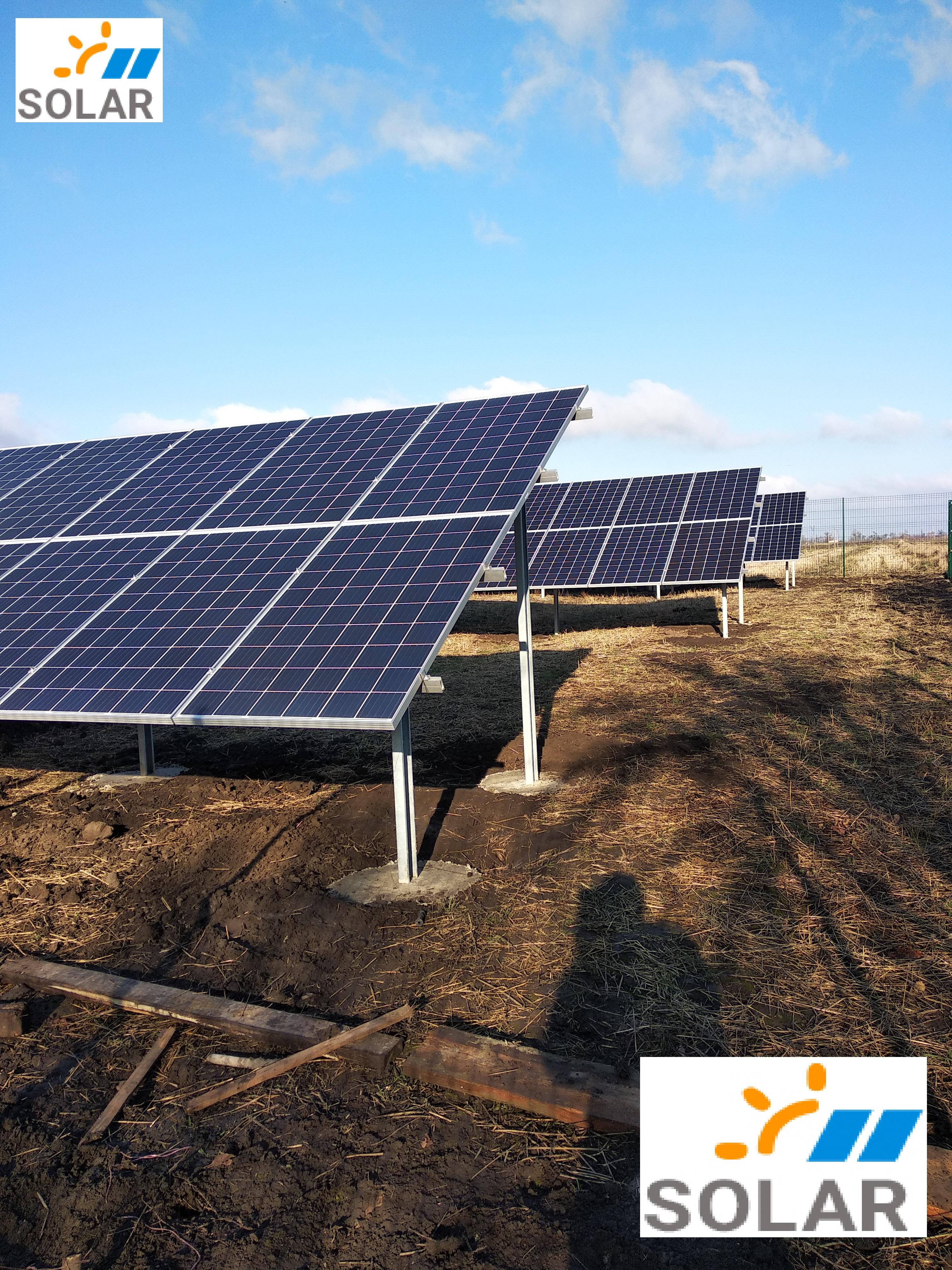 """Мережева сонячна станція 30 кВт на зелений тариф """"Бізнес Тренд"""""""