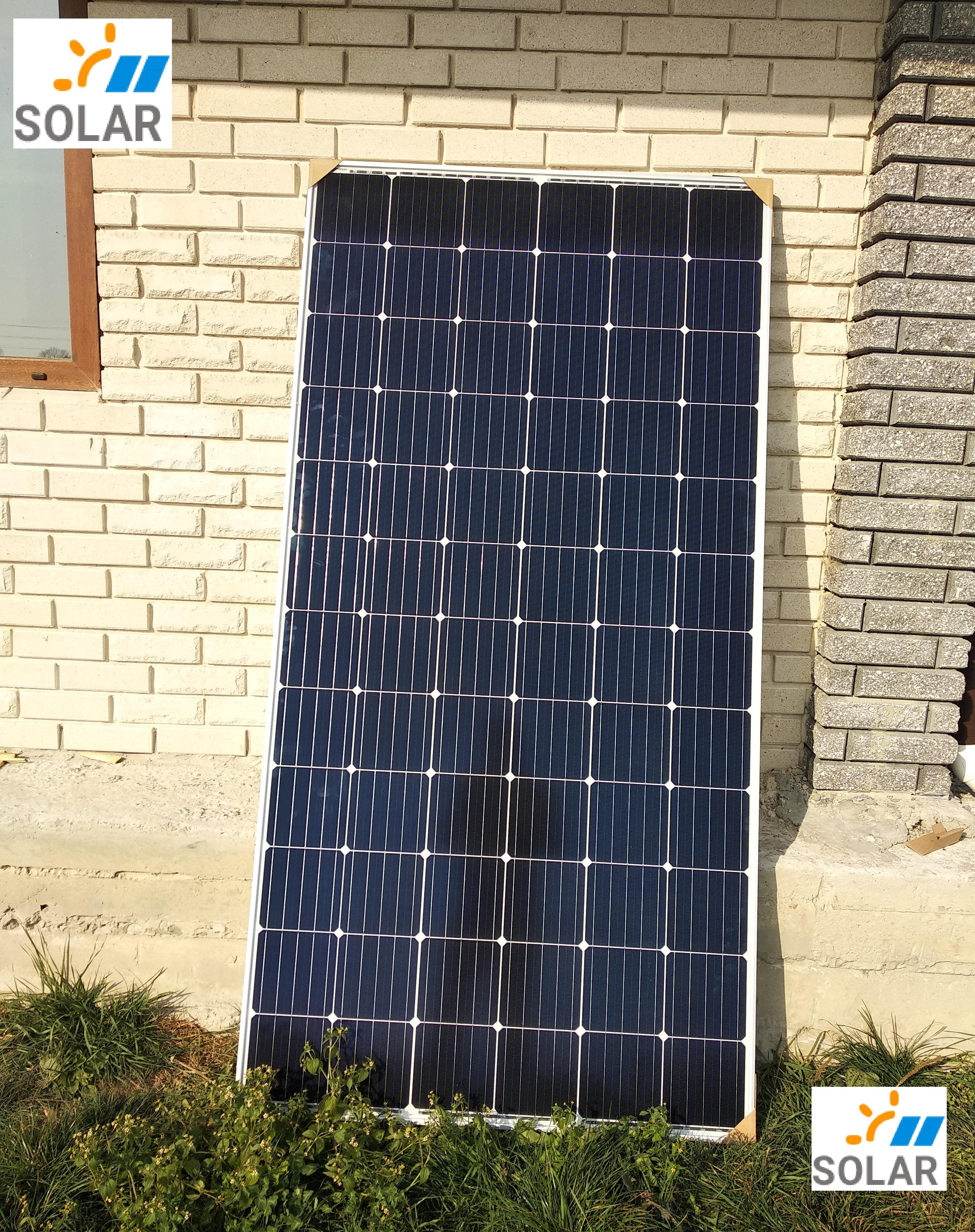 Сонячна панель Risen RSM72-6-370М, 5BB, 370W, PERC mono