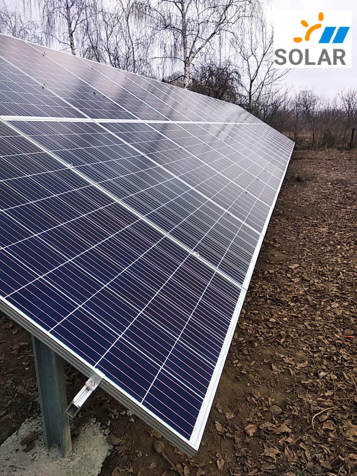 """Мережева сонячна станція 30 кВт """"Бізнес Тренд Плюс"""""""