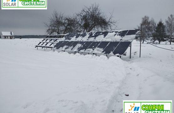 Оптимізована сонячна станція Рівненська область 30 кіловат