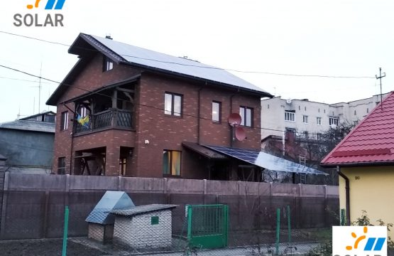 Мережева сонячна станція місто Луцьк потужністю 15 кіловат