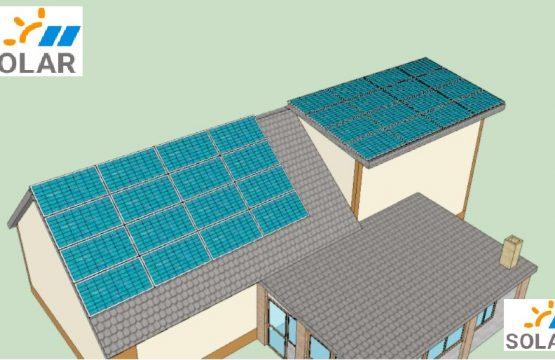 Сонячна станція на найпотужніших сонячних панелях LONGI Solar