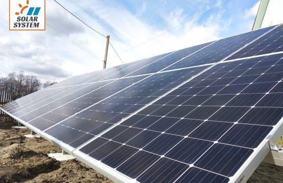 Сонячна електростанція 30 кіловат під ключ Рівненська область
