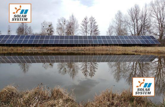 Сонячна станція максимальної потужності на наземній конструкції