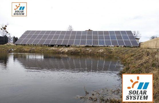 Сонячна електростанцію для дому потужністю 30 кВт
