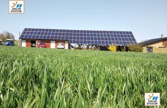 Сонячна електростанція 30 кВт Huawei та Risen
