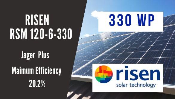 Сонячна панель монокристал Risen RSM120-6-330 М