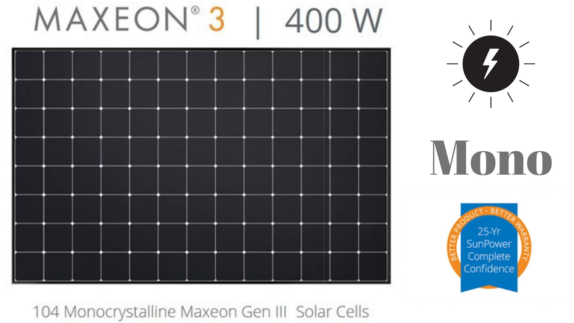 Sunpower P19-400W