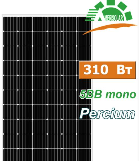 Сонячна панель монокристал AMERISOLAR AS-6M30 310W 5BB