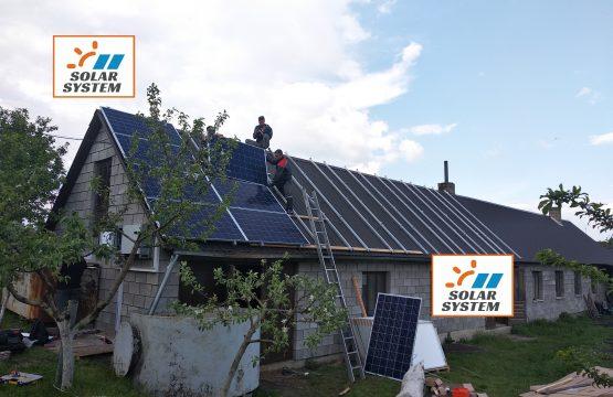 Сонячна станція на даху під Зелений тариф Рівненська область, м. Дубно