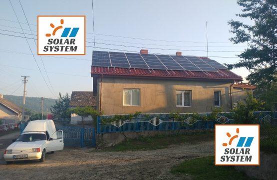 Домашня сонячна електростанція потужністю 10 кіловат Тернопільська область