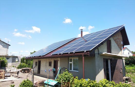 Сонячна електростанція 30 кіловат Тернопільська область