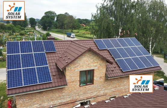 Сонячна електростанція під Зелений тариф /// Тернопільська область місто Шумськ