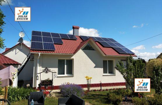 Сонячна станція потужністю 5 кіловат Зелений тариф /// Рівненська область