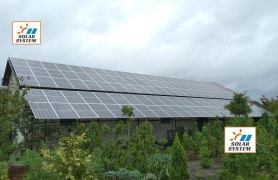 Мегапродуктивна сонячна станція під Зелений тариф