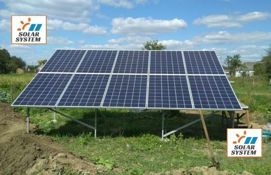 Перша черга сонячної станції на 30 кіловат Рівненська область