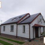 Sonyachna stantsiya Zelenyj taryf pid klyuch Rivne