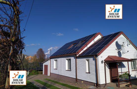 Сонячна електростанція максимальною потужністю під Зелений тариф