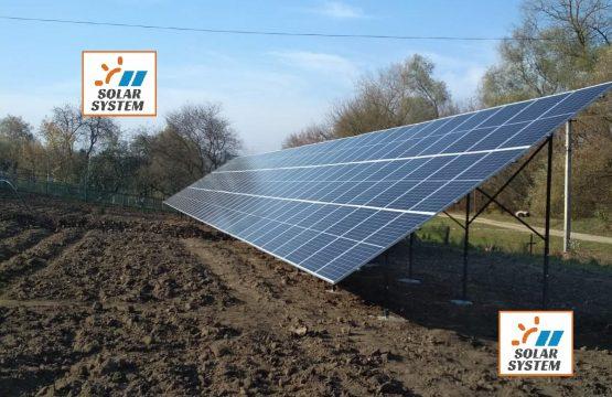 Сонячна електростанція на 30 кіловат під Зелений тариф Тернопільська область