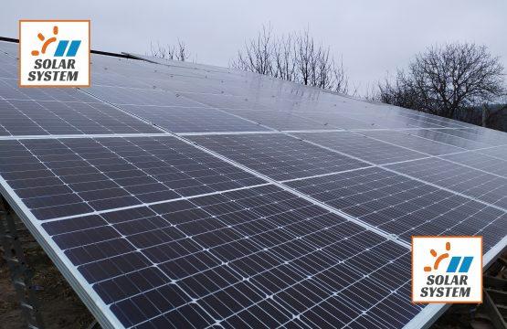 Перша черга сонячної електростанції на 30 кіловат /// Тернопільська область