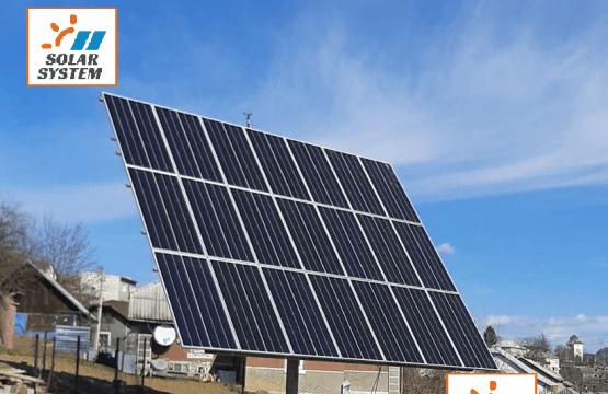 МЕГА продуктивна сонячна електростанція на сонячному трекері плюс фотомодулі Sunpower