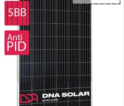 Сонячна панель DNA SOLAR 315Вт моно, DNA60-5-315M, 5BB