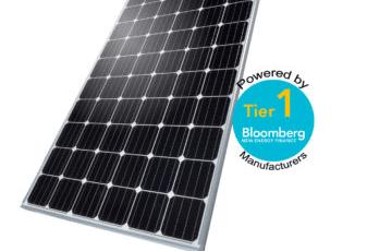 Солнечная панель монокристалл ABi-Solar AB330 PERC HC