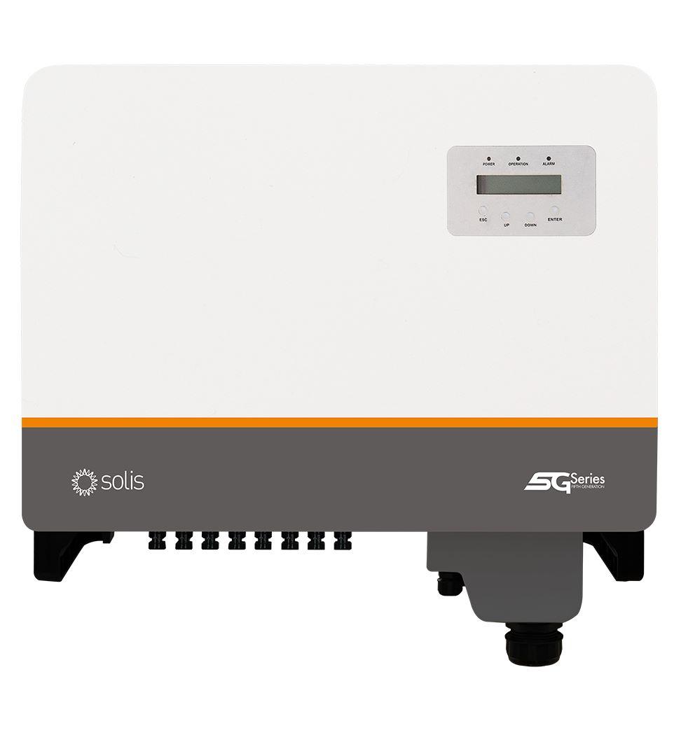Мережевий інвертор Solis 30K-DC