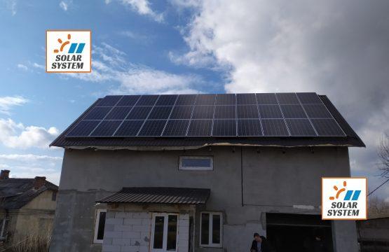 Сонячна електростанція під Зелений тариф 10 кіловат /// Рівненська область