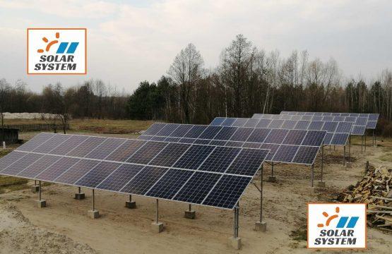 Сонячна електростанція під Зелений тариф Рівненська область 30 кіловат