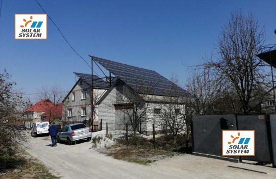 Сонячна станція місто Новоград-Волинський /// Монокристал та інвертор Huawei