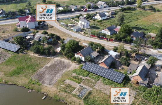 Дві сонячні електростанції по 30 кВт