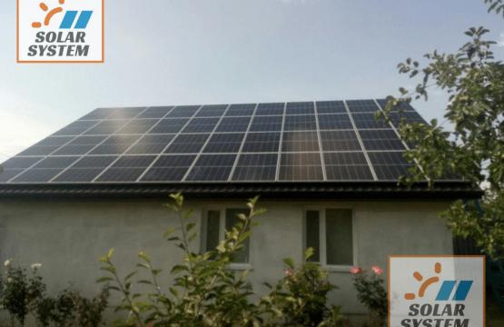 Перша черга мережевої сонячної електростанції під Зелений тариф /// Нововолинськ