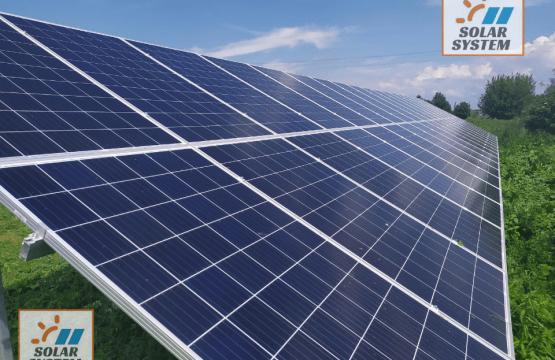 Мережева сонячна електростанція потужністю 30 кВт під Зелений тариф