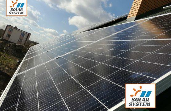 Сонячна електростанція під Зелений тариф потужністю 20 кіловат /// Волинська область