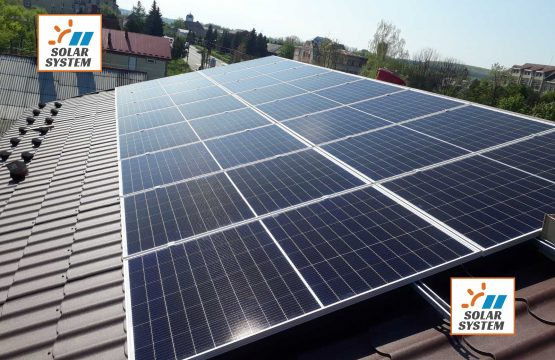 Сонячна станція для економії енергоспоживання в бізнесі