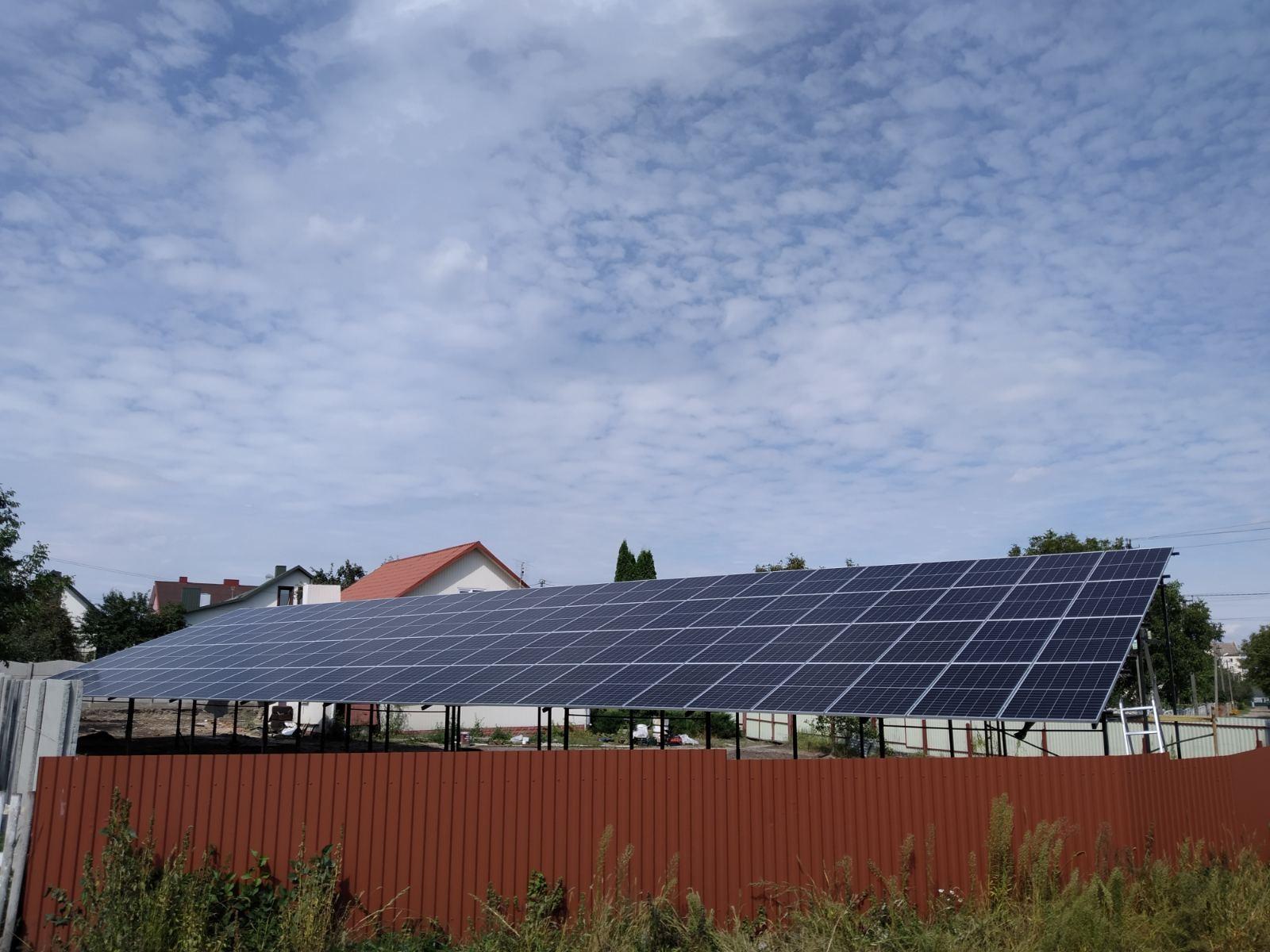 Мережева сонячна станція 30 кВт ТРЕНД комплект