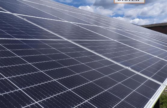 Мережева сонячна електростанція потужністю 30 кіловат /// Рівненський район