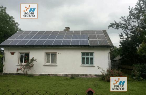 Друга черга сонячної електростанції 10 кВт ///Рівненська область