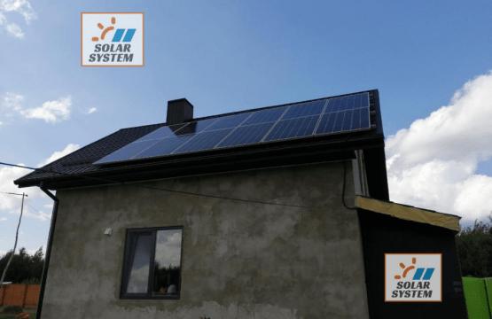 Автономна сонячна електростанція потужністю 4 кіловат /// Рівненський район
