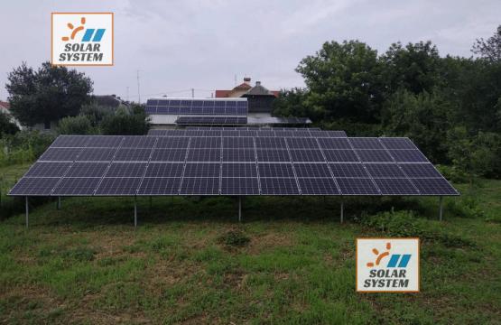 Мережева сонячна електростанція потужністю 30 кіловат 3 черга.