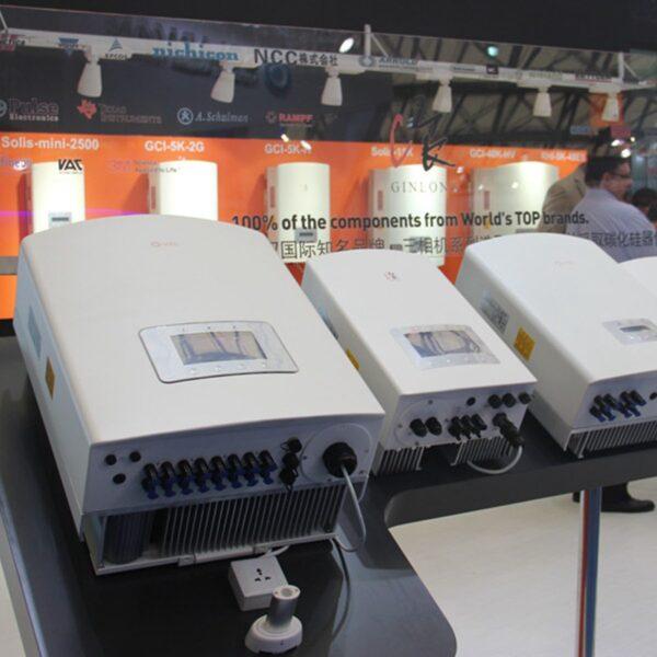20KW Solis Solar Inverter Triphase Solar String Grid Tied Inverter PV On Grid Inverter 4 MPP